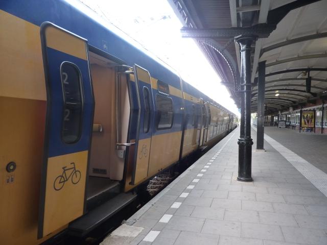 Fietscompartiment trein, station Nijmegen