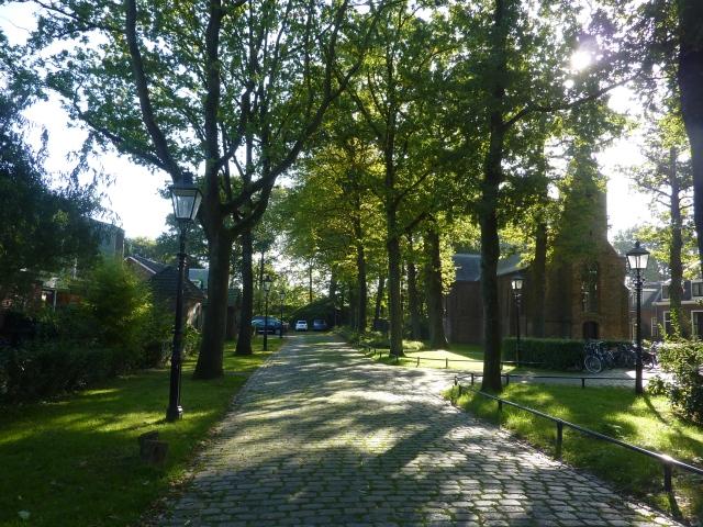 Kerkje in Fort Blauwkapel Utrecht