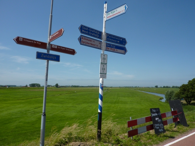 Routebordjes