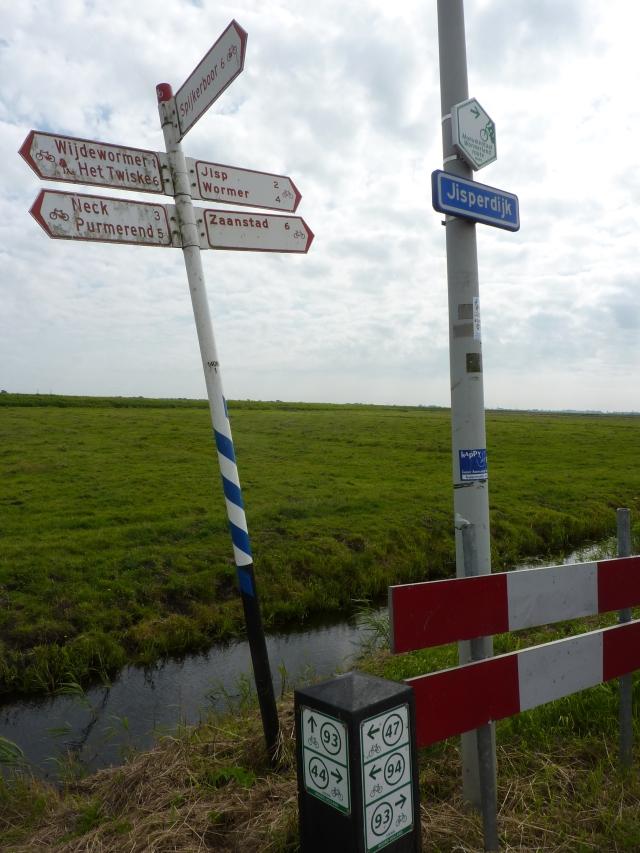 Routebordjes Jisperdijk