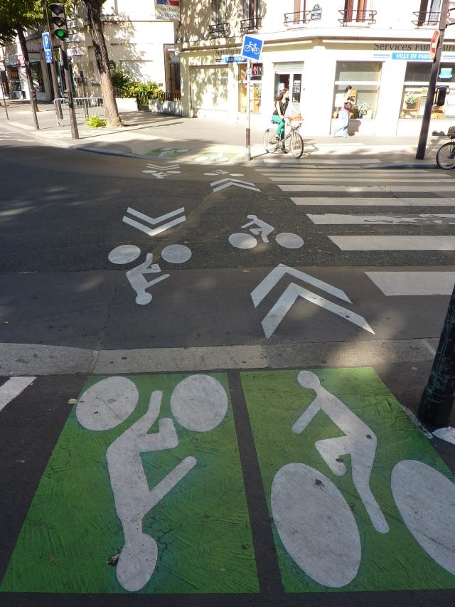 Parijs fietspad