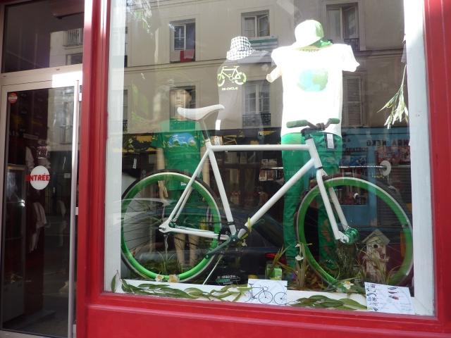 Paris Rue Keller vélo