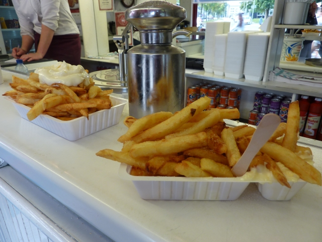 Bredase frieten van Frituur Christ