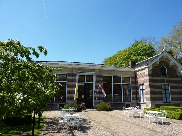 Terras landgoed Oostbroek, De Bilt