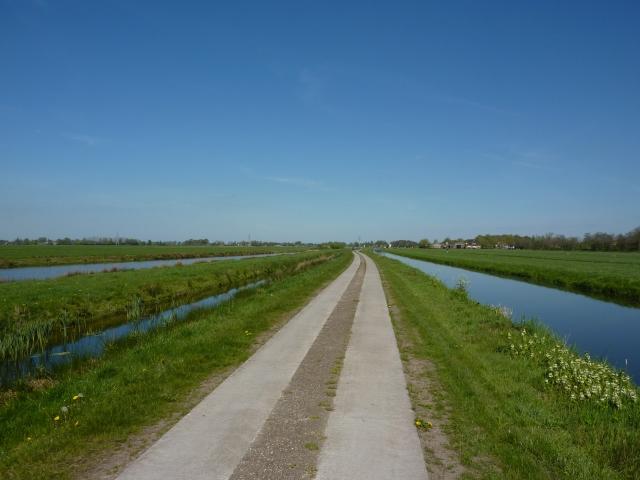 Groenedijk tussen Utrecht en Westbroek