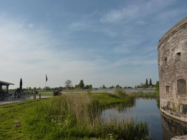 Fort Uitermeer en terras
