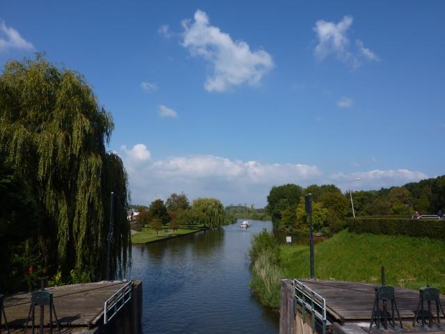 Sluis langs de Linge bij Asperen