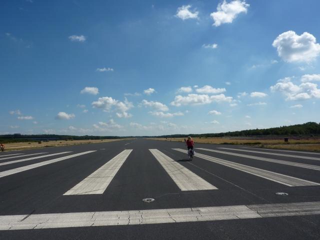 Landingsbaan vliegbasis Soesterberg